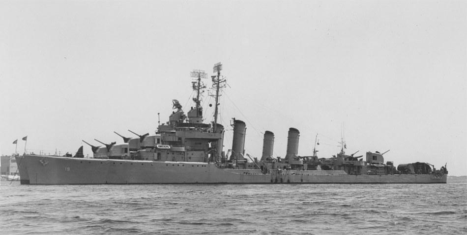 USS Ellyson and Hambleton