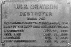 Grayson data plate