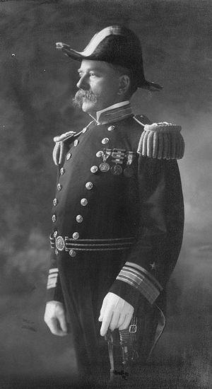 Rear Admiral Aaron Ward