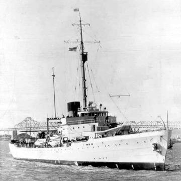 USS Hamilton, 1937