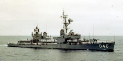 USS Glennon, 1967.