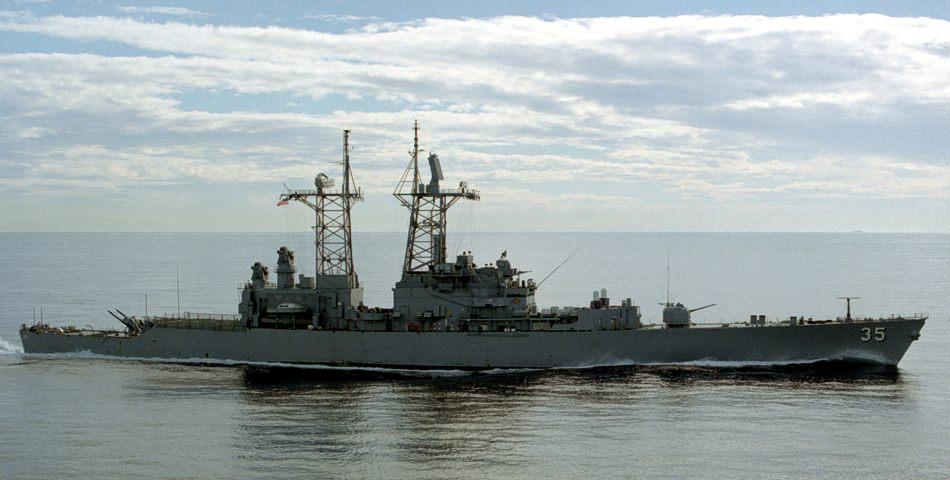 USS Truxtun.