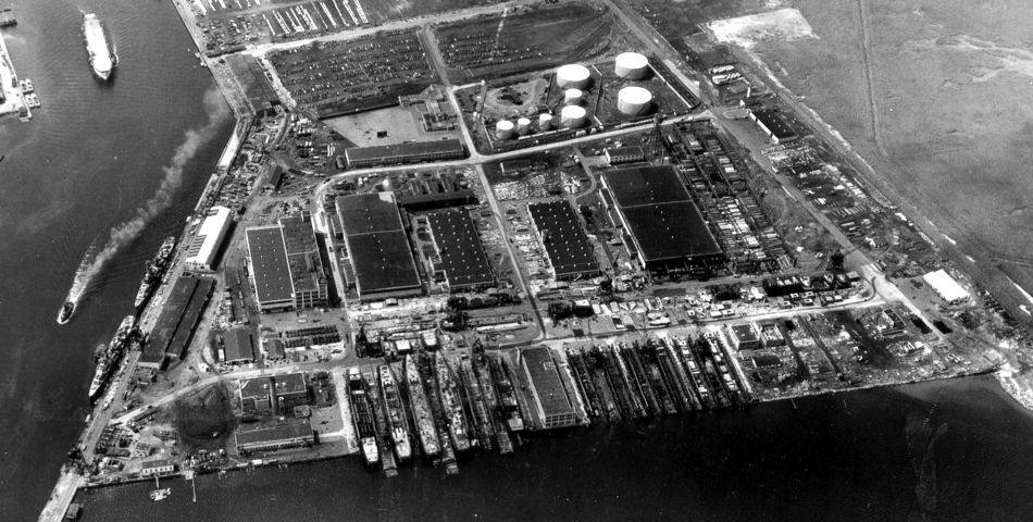 Federal Shipbuilding & Dry Dock Co., Port Newark, New Jersey
