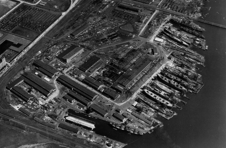 Federal Shipbuilding & Dry Dock Co., Kearny, New Jersey