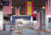 Baton Rouge Ship Modelers Association display.