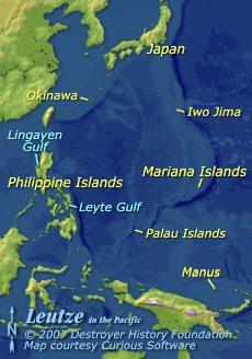 Leutze in the Pacific