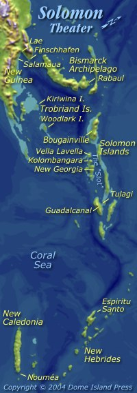 Hudson in the Solomon Islands