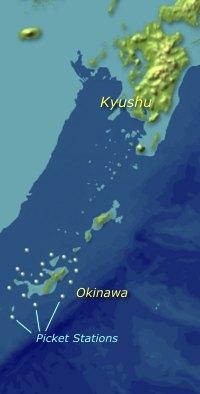 Okinawa radar picket stations