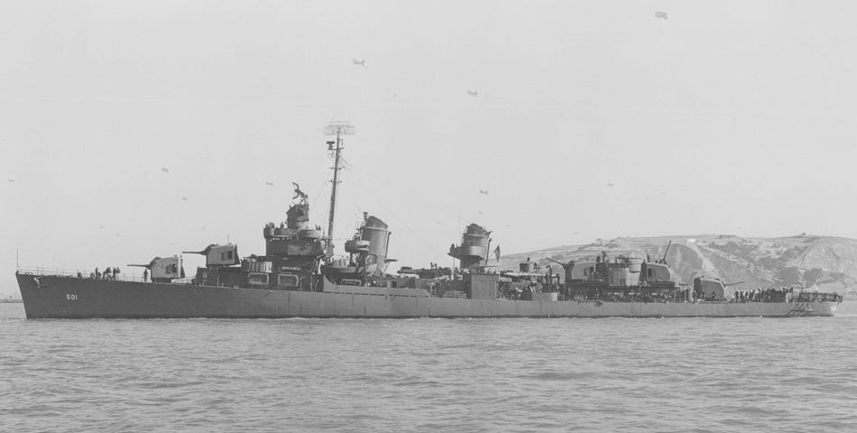 USS Schroeder