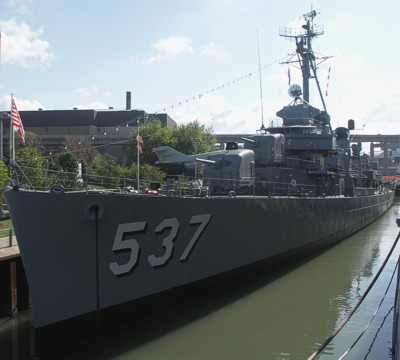 USS The Sullivans, Buffalo, New York, 2007.
