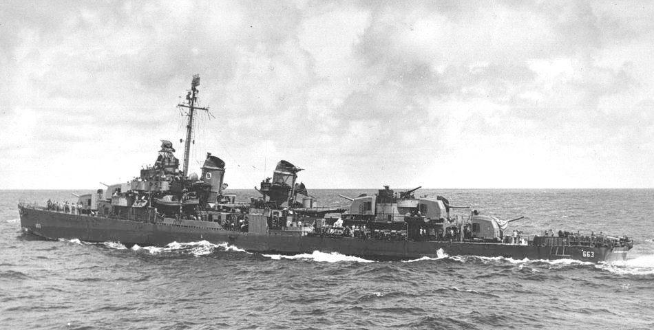 USS Heywood L. Edwards