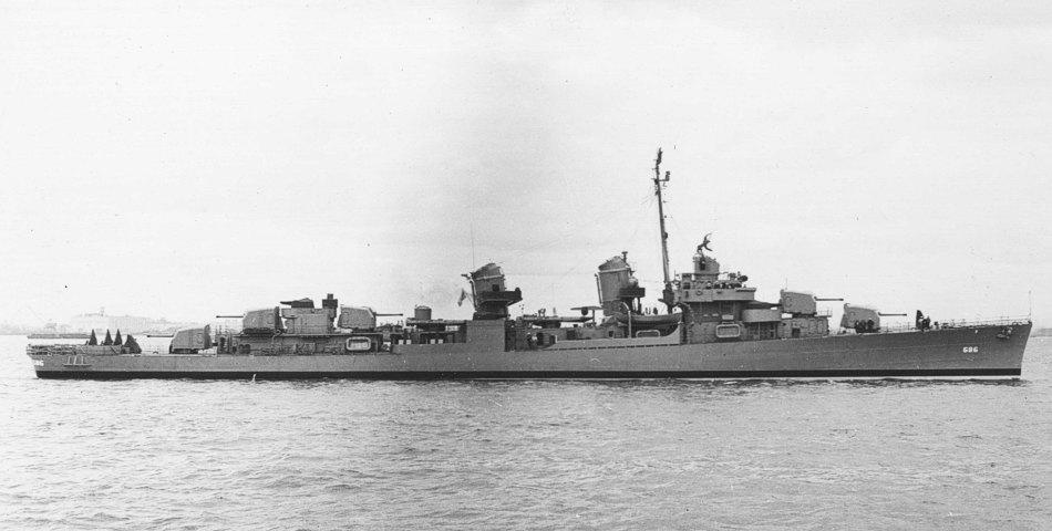 Destroyer History — Fletcher class destroyer