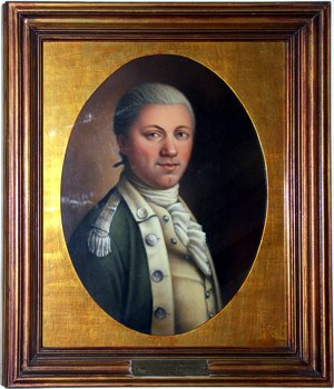 Portrait of Samuel Nicholas at Marine Corps Commandant's Residence