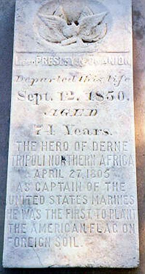 O'Bannon grave