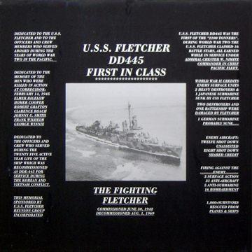 Memorial Wall plaque, National Museum of the Pacific War, Fredericksburg, Texas.