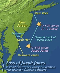 Loss of Jacob Jones