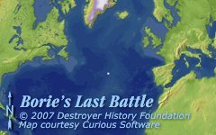 Borie's last battle position
