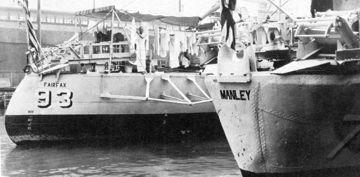 USS Manley and USS Fairfax