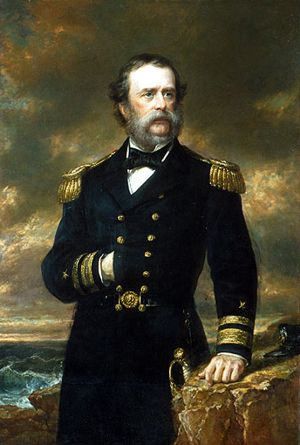 Rear Admiral Samuel Francis du Pont