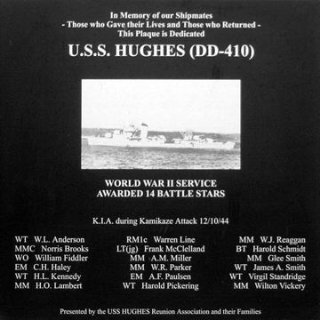 Memorial Wall plaque, National Museum of the Pacific War, Fredericksburg, Texas.