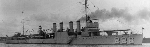 Peary DD-226), destroyer 226, (Destroyer Clemson-class USS No.