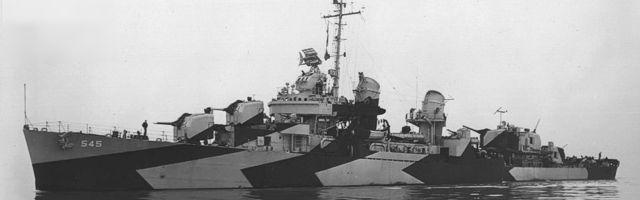 USS Bradford (DD-545), Fletcher-class destroyer in World War II