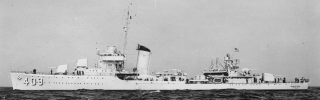 Sims-class destroyers in World War II