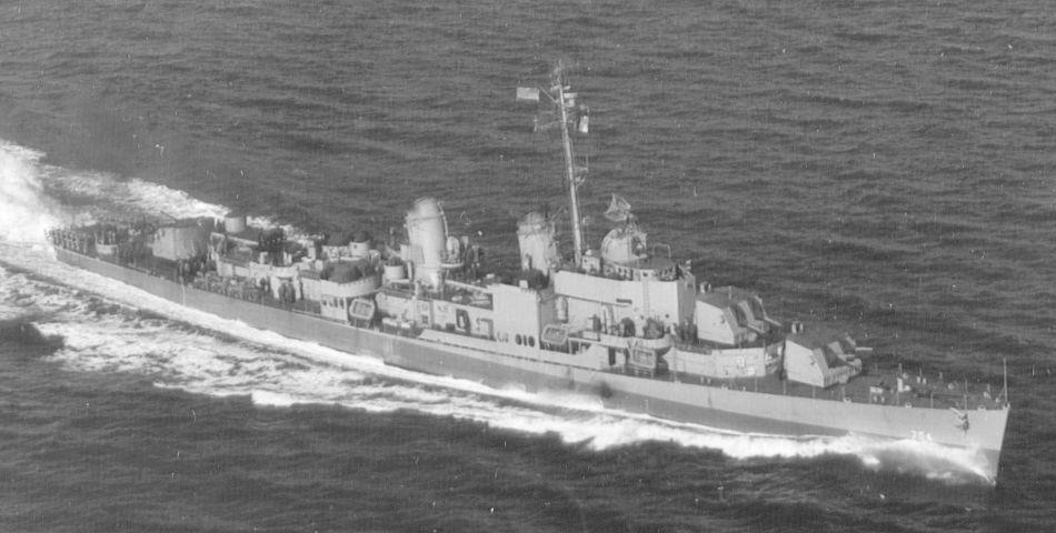 USS Frank E. Evans