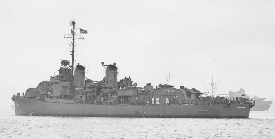 USS Hollister