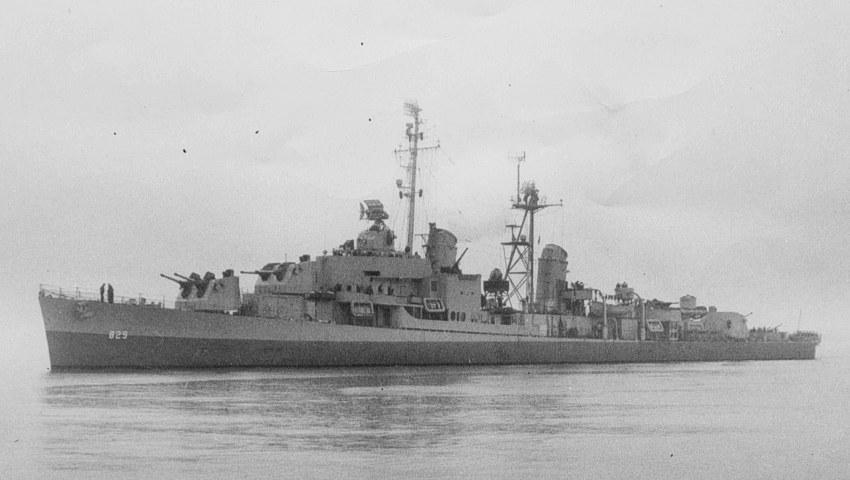 USS Myles C. Fox